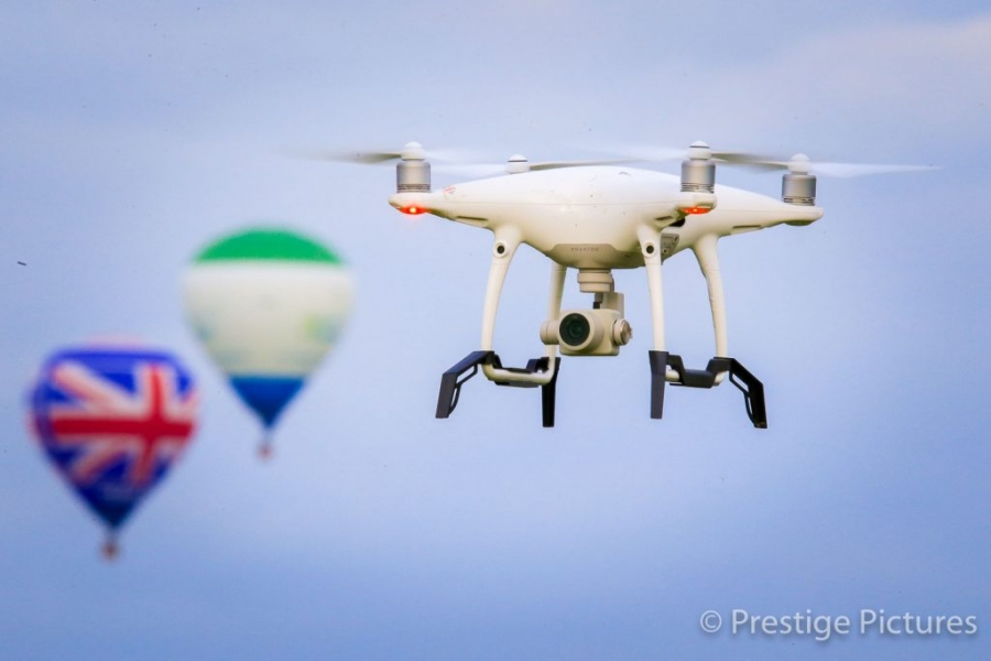 Prestige Pictures Aerial Photography at the Bristol Balloon Festival
