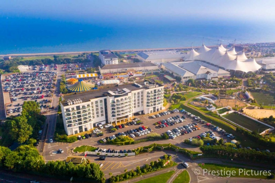 Butlins holiday centre in Southern England ©Prestige Pictures