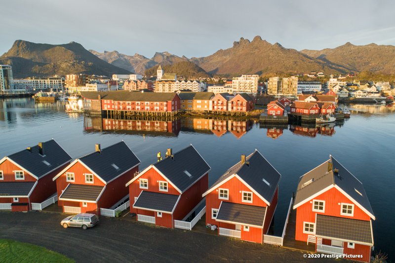 Norwegian Arctic town ©Prestige Pictures