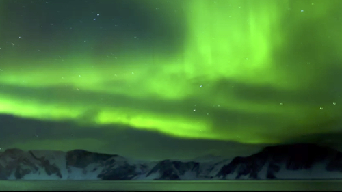 Northern Lights off the coast of Arctic Norway
