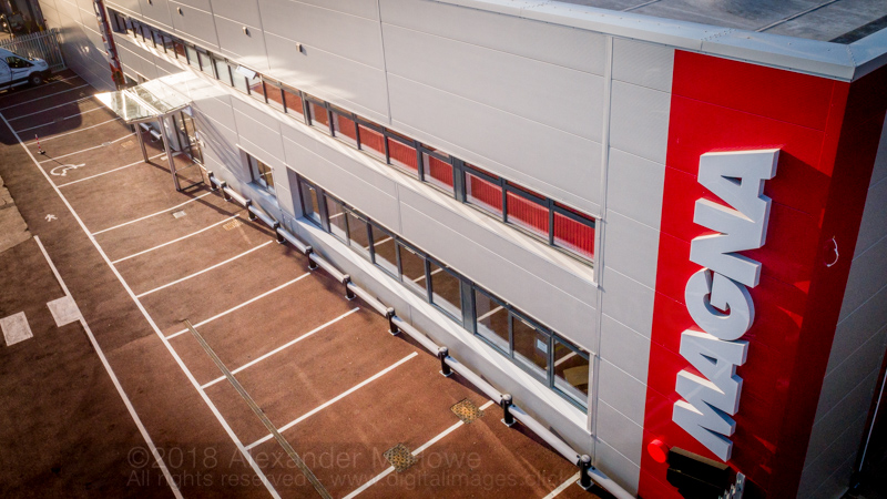 Magna New Frontage